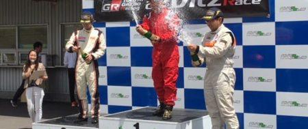 [井上 功] TOYOTA GAZOO RACING NETZ CUP VITZ RACE 2018 西日本シリーズ 第1戦